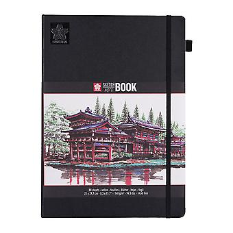 Sakura Sketch Note Book with 80 Sheets 21 x 29.7 cm