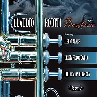 Claudio Roditi - Brazilliance X 4 [CD] USA import