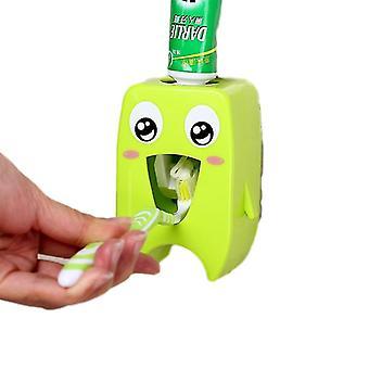 Automaattinen hammastahna-annostelija - Hammasharjateline, Seinäteline Kylpysetti