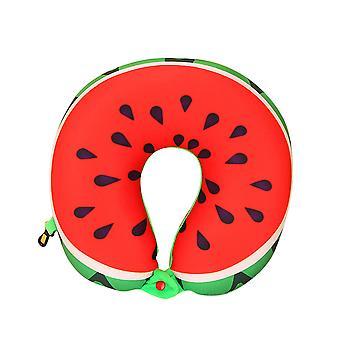 YANGFAN الفاكهة الإبداعية طباعة وسادة على شكل حرف U