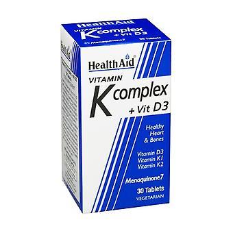 فيتامين K مع فيتامين D3 30 أقراص