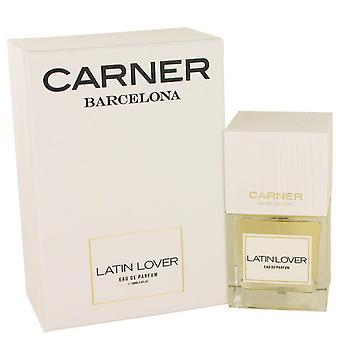 Latin lover eau de parfum spray by carner barcelona 538565 100 ml