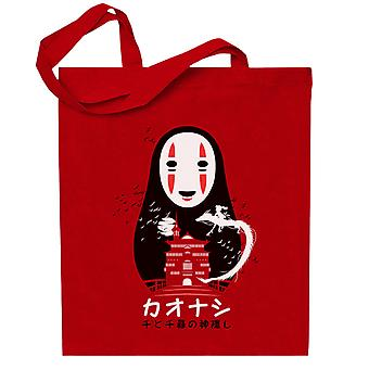 Spirited Away No Face Background Totebag