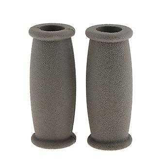 Morbido gomma Crutch Walker mano grip Covers Pad - Cuscino Anti Silp Stampe Handle