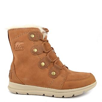 Sorel Explorer Joan Camel Waterproof Boots