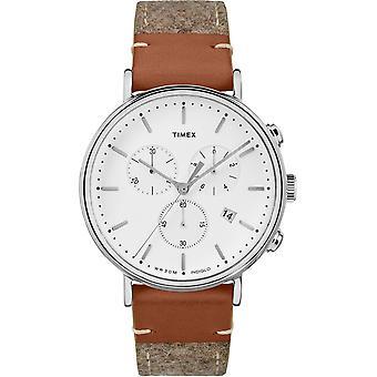 TW2R62000, Fairfield Timex Style Unisex Uhr / Weiß