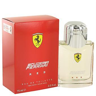 Ferrari Scuderia Red Eau De Toilette Spray por Ferrari 75 ML