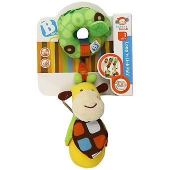 Baby Toys - B Kids - Loop'n Link Pals- Zuzu Games New 3789