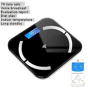 Scientific Smart Electronic Lcd Digital Bmi Balance Bluetooth App Android Or Ios Body Weight Floor Scale