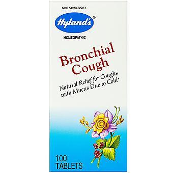 Hyland's, Bronchiale Hoest, 100 tabletten