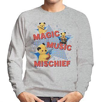Sooty Magic Music Mischief Miehet&s Collegepaita