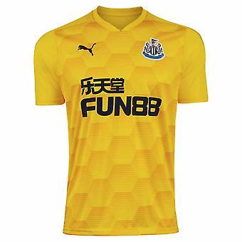 2020-2021 Newcastle United tredje keeper skjorte (gul)