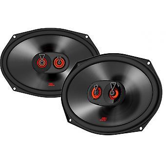 Club 9632 Lautsprecherset Drei-Wege-Koaxial 6 x 9 Zoll 255W schwarz
