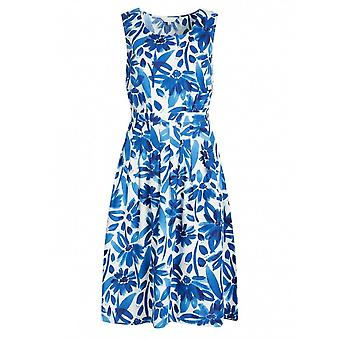 Seasalt Seamstress Dress (watercolour Floral Cargo)