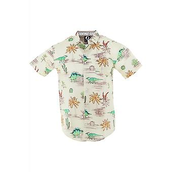 Fearless Illustration Discontinued Reptiles Short Sleeved Shirt