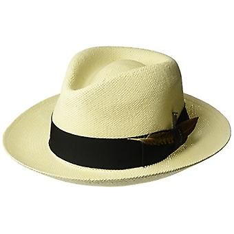 Bailey of Hollywood Men's Outen Fedora Trilby Hat,, Natural, Size X-Large
