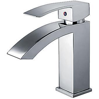 Jem Collection Single Hole/Single Lever Lavatory Faucet con rifiuti pop-up - Cromato lucido