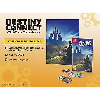 Destiny Connect Tick Tock Travelers Time Capsule Edition Nintendo Switch Game