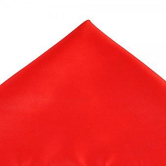 Solmiot Planet Plain Red Pocket Square Nenäliina