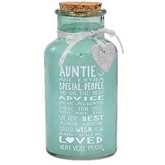 Messages of Love Light Up Auntie Jar