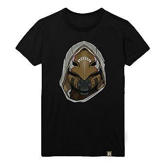 Destiny Celestial Nighthawk Helmet T-Shirt Male Large Black (TS003DES-L)