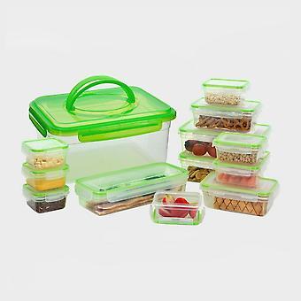 Új Hi-Gear 13 Piece Kompakt ebéd zöld