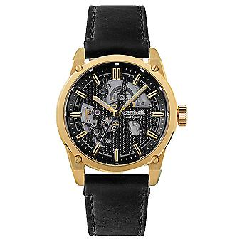 Carroll Automatic Analog Men's Watch with Cowhide Bracelet I11601