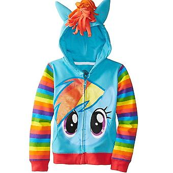 Girls Jackets My Hoodies Sweatshirt Baby Little Pony Clothing Spring Autumn