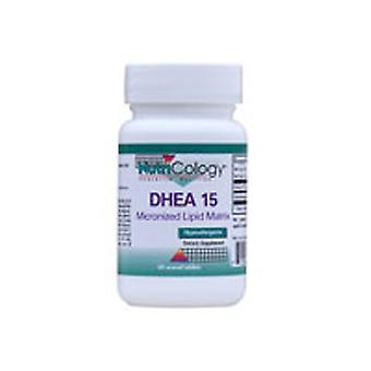Nutricology/ Allergy Research Group DHEA, 15 MG 60 TABS