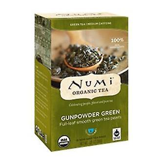 Numi Tea Organic Tea, Gunpowder Green 18 Tea Bags