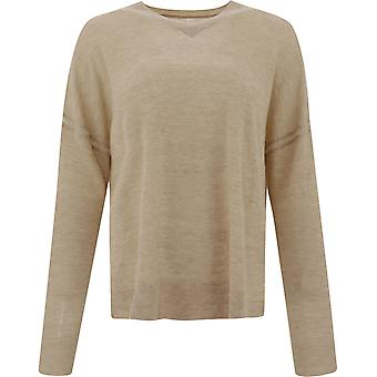 Isabel Marant ÉToile Pu063120a073e90be Women's Beige Wool Sweater