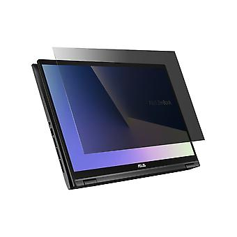 Celicious Privacy Plus 4-Way Anti-Spy Filter Screen Protector Film Compatible with Asus ZenBook Flip 15 UX563FD
