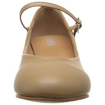 Bloch Women & apos؛s الأحذية برودواي لو الجلود مغلقة مضخات حزام الكاحل الكلاسيكية