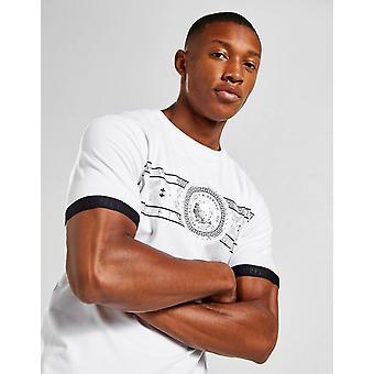 Nieuwe Supply & Demand Men's Walkway Short Sleeve T-shirt Wit