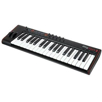 IK Multimedia iRig Keys 2 Pro MIDI Keyboard Output for iPad Android Mac/PC