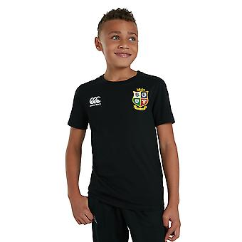 Britse en Ierse Lions Boys Casual Katoenen Jersey Top T-shirt