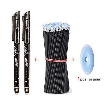0.5mm قابل للمسح القلم مجموعة مع عبوات قضيب للطلاب
