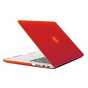 Laptop Frosted Hard Plastic Protection Case for Macbook Pro Retina 13.3 inch(Red)