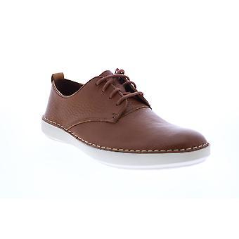 Clarks Komuter Walk Herren Braun Oxfords & Schnürsenkel Plain Toe Schuhe