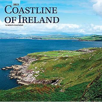 ساحل أيرلندا 2021 التقويم مربع من قبل براونتروت