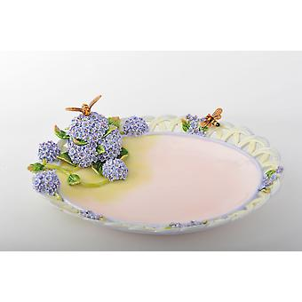 Trinket Plate With A Bee
