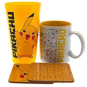 Pokemon Pikachu Drinkware Set