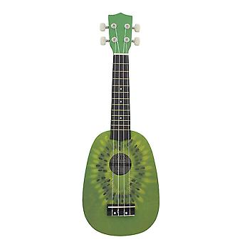 21inch Ukelele String Instruments 4 String Guitar Mini Guitar Green Kiwi
