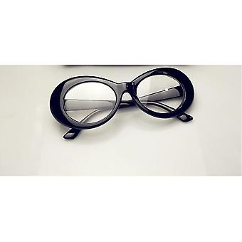 Ladies Trendy Hot Vintage Retro White Black Eyewear Uv Sunglasses