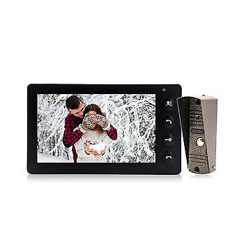 7 hüvelykes videó ajtó telefon kaputelefon rendszer Private Home