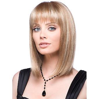 Women's Wig Women's Fashion Chemical Fiber Straight Hair Mid-Length