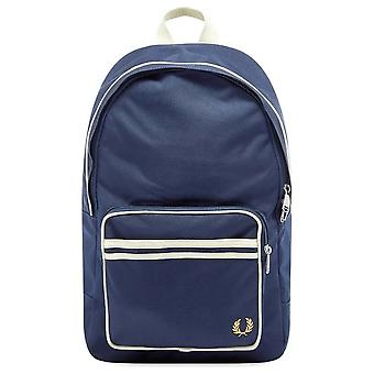 Fred Perry Twin Tipped Backpack Bag L6231-608 Navy