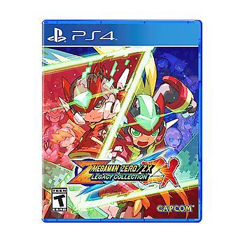 Mega Man Zero/Zx Legacy Collection PS4 Game (#)
