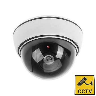Phot-r outdoor indoor fake imitation ir dome cctv blinking red led flashing light surveillance secur