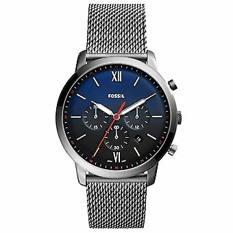 Fossil FS5383 Neutra Chronograph Smoke Stainless Steel Mens Watch